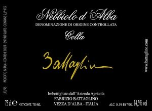 Come leggere l'Etichetta del Vino - Nebbiolo Colla - Battaglino