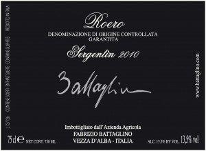 Come leggere l'Etichetta del Vino - Roero Sergentin - Battaglino