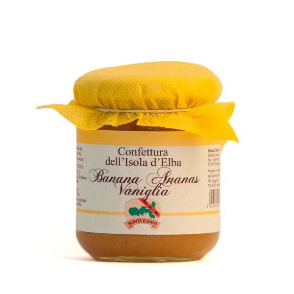 Confettura di Banana, Ananas e Vaniglia - Bontà Elbane
