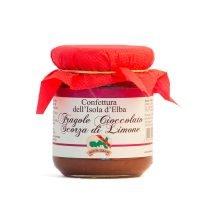 Confettura di Fragole, Cioccolato e Scorze di Limone - Bontà Elbane