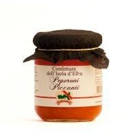 Confettura di Peperoni Piccanti - Bontà Elbane
