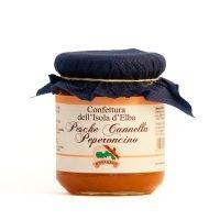 Confettura di Pesche, Cannella e Peperoncino - Bontà Elbane