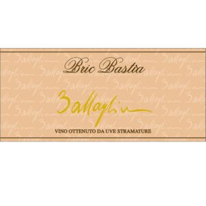 Etichetta Bric Bastia 2012 (Arneis Passito) - Battaglino