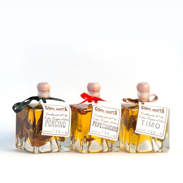 Confezione Degustazione olio Aromatizzato - La Corte Ghiotta