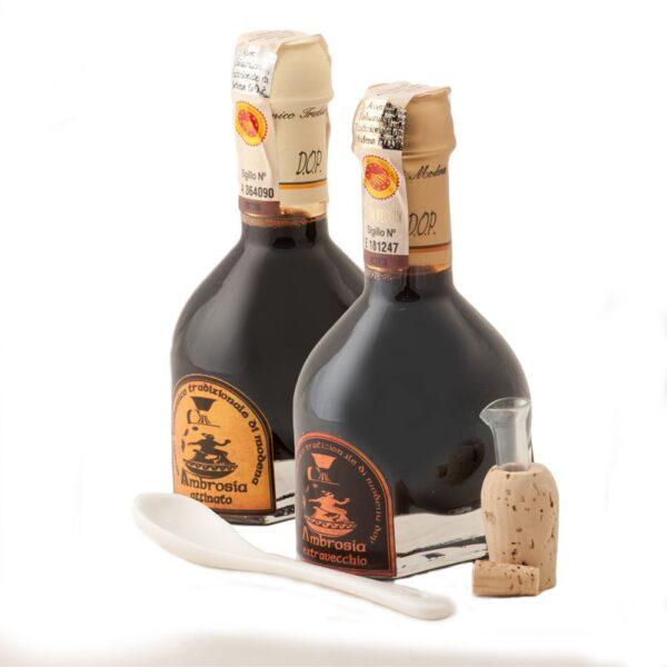 Confezione Degustazione Aceto Balsamico Tradizionale di Modena - Acetaia Ambrosia