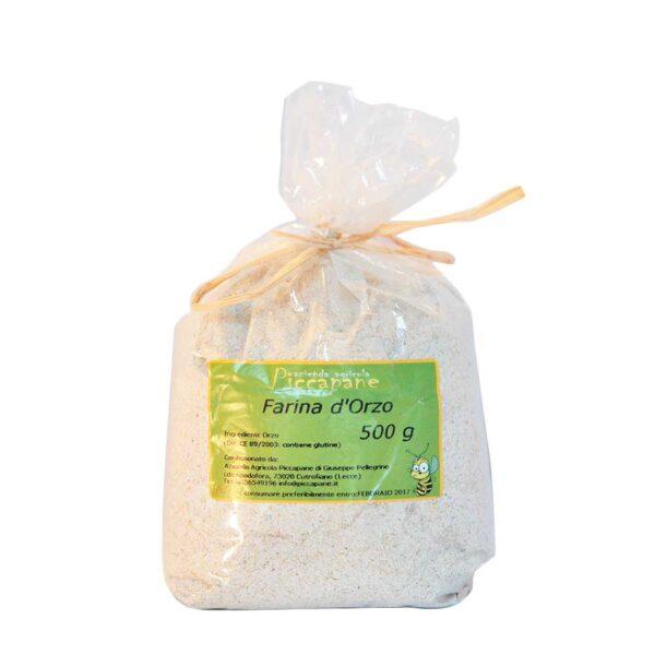 Farina d'Orzo Biologica 500 g - Piccapane