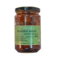 Pomodori Secchi in Olio Extra-Vergine di Oliva 250 g - Piccapane