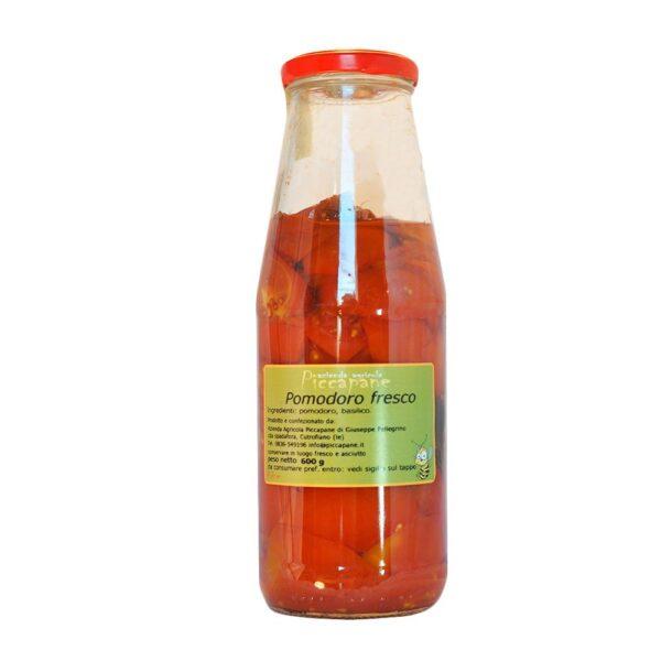 Pomodoro Fresco in Bottiglia 600 g - Piccapane
