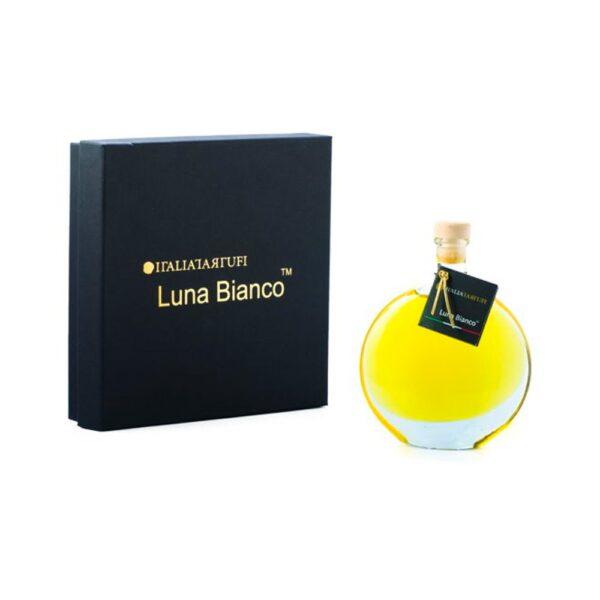 Luna Bianco - Olio Extra Vergine di Oliva Aromatizzato al Tartufo Bianco - Italia Tartufi