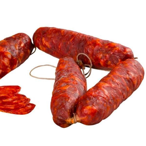 Salsiccia a Catena Piccante Calabrese Casa Folino