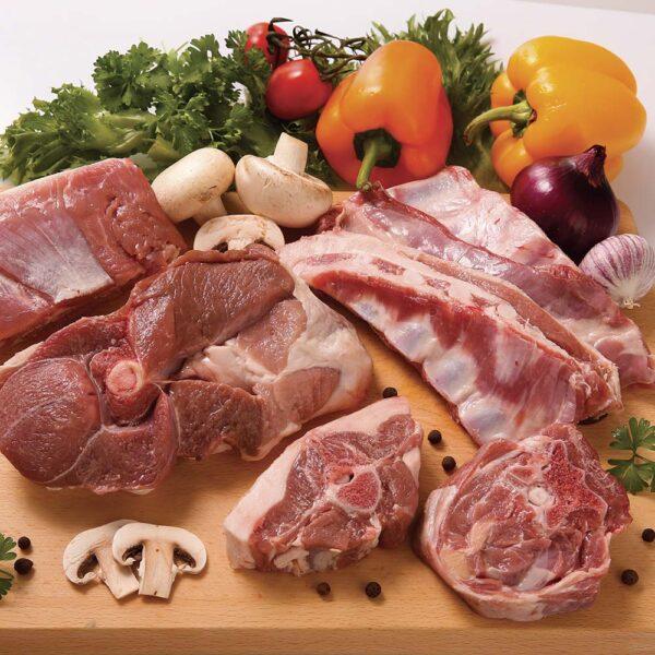 Pacco Famiglia di Bovino Piemontese - 5 Kg ca Azienda Agricola San Paolo