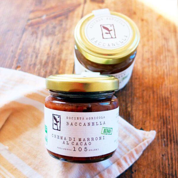 Crema di Marroni al Cacao Biologica - Baccanella